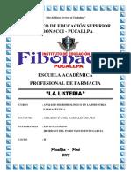 La Listeria - Fibonacci 2017