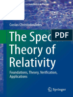 [ULNP] the Special Theory of Relativity -Christodoulides (Springer 2016)