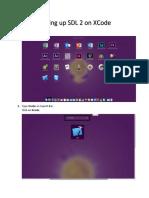 2- Setting Up SDL 2 on XCode