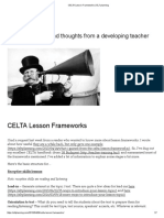 CELTA Lesson Frameworks _ ELT Planning