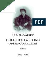 Blavatsky, Helena - Collected Writings Tomo II