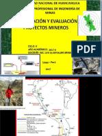 1ra. Clase Proyectos 2017-II