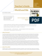 Teacher Guide - Between the World and Me
