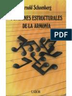 Schönberg - Funciones Estructurales de La Armonía