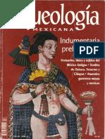 ARQUEOLOGIA MEXICANA INDUMENTARIA PREHISPANICA