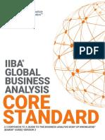 IIBA Global BusinessAnalysis CoreStandard