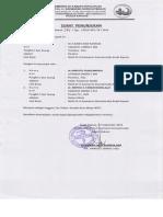 Surat Penunjukan Tim Teknis KMKB RS