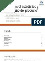 Actividad 1 Control Estadístico y Diseño Del Producto