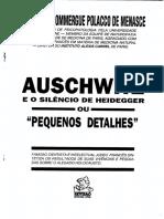 Auschwitz e o Silencio de Heidegger - Roger Dommerg Pollaco de Menasce.pdf