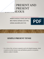 Bahasa Inggris Simple Present and Simple Present Continuous