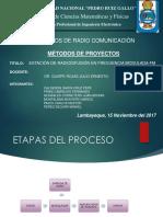 Diapositivas Del Proyecto de La Estacion de Radiodifusion (1)