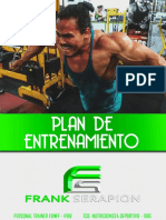 Rutina de Entrenamiento Nro 2 Luis Fernando Cordova Zegarra
