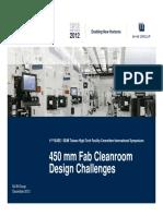Kersten Pfeifer_M+W_450 mm Fab Cleanroom