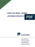 Start Ups Israel España - EXMDF2009 - 100709