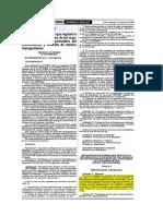 Reglamento de Normas Que Regulan La Organizacion y Funciones de Los Organos de Cofopri Responsables Del Conocimiento y Solucion de Medios Impugnatorios