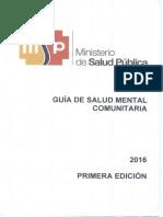 Guia de Salud Comunitaria 2016