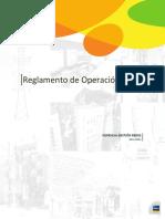 Reglamento Operaciones 2011