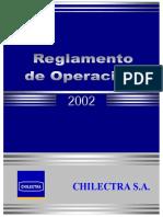 Reglamento de Operaciones de Chilectra