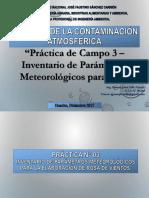 Clase 15 CCA 14-12-2017 Practica de Campo 3 Inventario de Parámetros Meteorológicos Para WR[1]