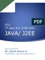 Java Unit8 Ashok Kumar K