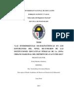 Tesis inteferencias linguisticas