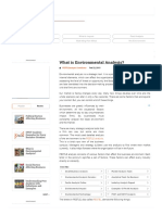 What is Environmental Analysis