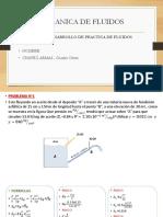 Mecanica de Fluidos Ejecicios de Practica