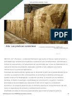 Arte_ Las Prácticas Curatoriales  - proceso