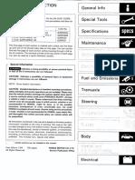 Honda Civic 92-95 Workshop Manual  62sr322