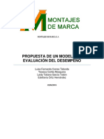 Propuesta de Un Modelo de Evaluacion