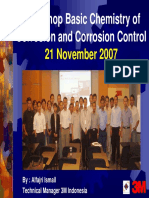 Workshop Corrosion Control