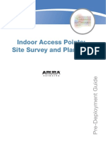 Indoor Access Points Site Survey and Planning