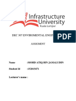 Dec 307 Enviromental Engineering