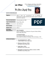 Curriculum Flor Elaine