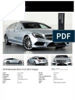 2016 Mercedes-Benz CLS 250 d Wagon
