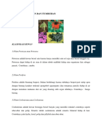 Klasifikasi Hewan Dan Tumbuhan