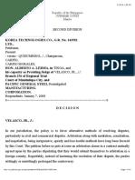 Korean Technologies v. Lerma