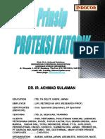 Prinsip Proteksi Katodik - INDOCOR - Traning Material