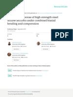 Structuralresponseofhighstrengthsteelhollowsectionsundercombinedbiaxialbendingandcompression.pdf