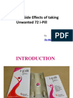 Dangerous Side Effects of Taking Unwanted 72 I-Pill