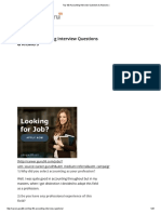 Top 100 Accounting Interview Questions & Answers
