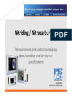 Nitriding Nitrocarburizing Complying to Automotive Aerospace Specs
