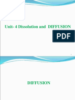 Unit 4 Diffusion
