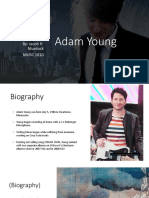 musc 1010 project - adam young