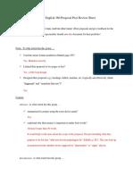 peer review proposal revised