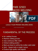 Lecture 4 Electrogas Welding