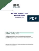 EnCase v6.19.7 Release Notes