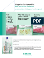 Prontosan 2-Sided Clean Wound Sell Sheet FINAL