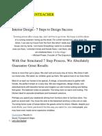 Interior Design Onlinedesignteacher