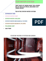 Stator Water Sys.